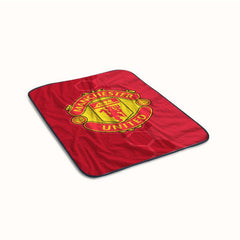 Manchester United Logo Fleece Blanket