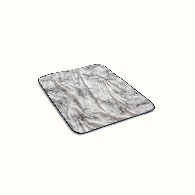 Marble Texture Fleece Blanket