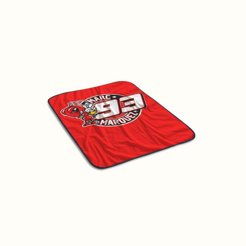 Marc Marquez Logo Fleece Blanket