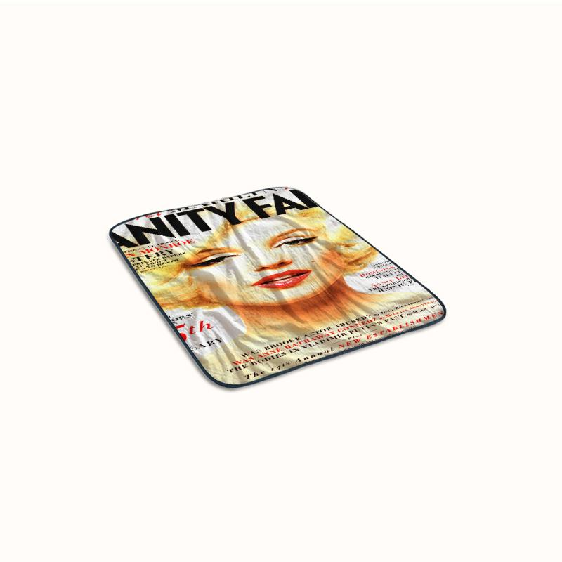 Marilyn Vanity Covers Fleece Blanket