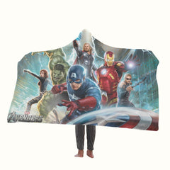Marvel Avengers Hooded Blanket