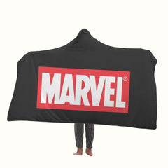 Marvel Logo Hooded Blanket