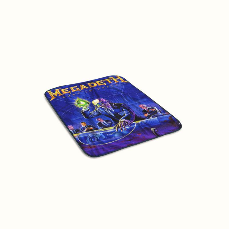 Megadeth Rust in Peace Fleece Blanket