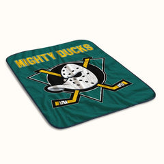 Mighty Ducks Logo Fleece Blanket