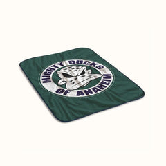 Mighty Ducks of Anaheim Fleece Blanket