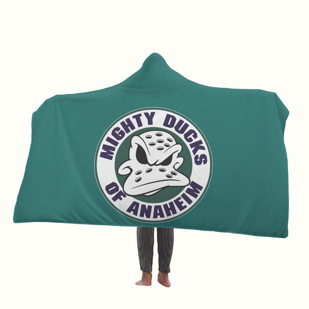 Mighty Ducks of Anaheim Hooded Blanket
