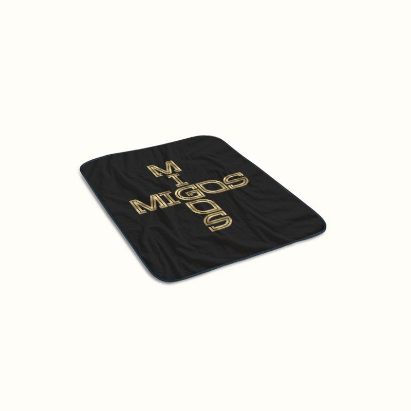 Migos Logo Fleece Blanket
