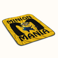 Minion Mania Fleece Blanket