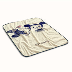 Minnie and mickey mouse vintage Fleece Blanket