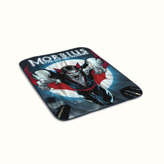 Morbius The Living Vampire Poster Fleece Blanket