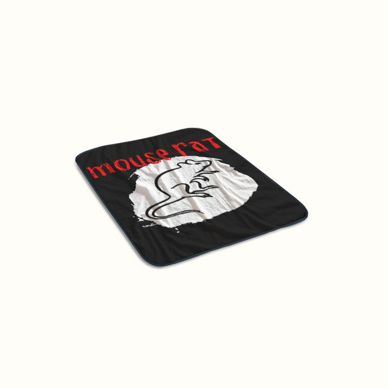 Mouse Rat Band Tour Fleece Blanket
