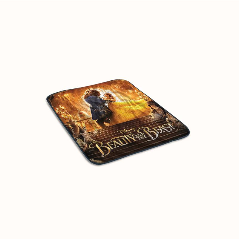 Movie Beauty and The Beast Covers Fleece Blanket