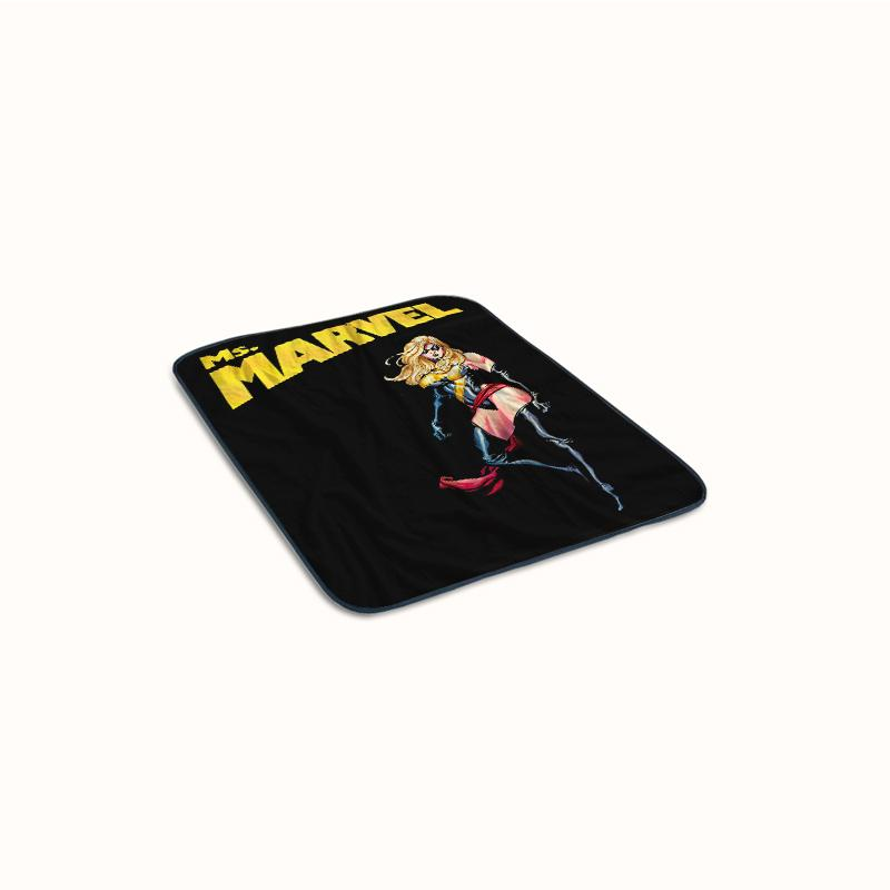Ms Marvel Comics Fleece Blanket