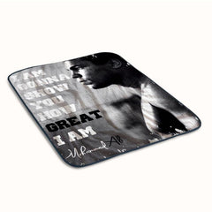 Muhammad Ali Quotes Fleece Blanket