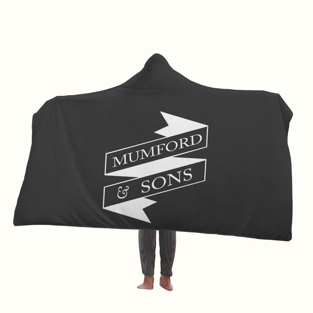 Mumford and Sons Hooded Blanket