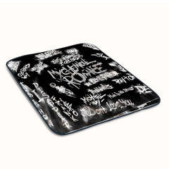 My Chemical Romance the black parade Quotes Fleece Blanket