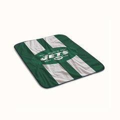 New York Jets Logo Fleece Blanket