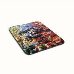 Nitendo All Character Cover Fleece Blanket