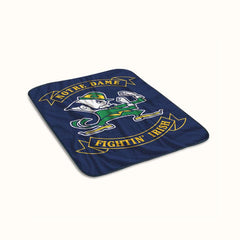 Notre Dame Fighting Irish Fleece Blanket