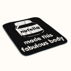 Nutella Made This Fabulous Body Fleece Blanket