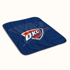 Oklahoma City Thunder Logo Fleece Blanket