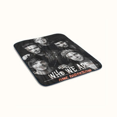One Direction Who We Are Fleece Blanket