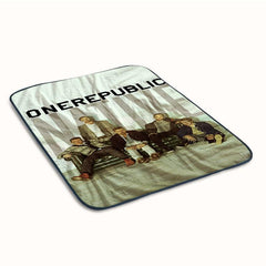 One Republic Covers Fleece Blanket