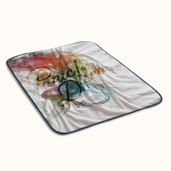 Panic at The Disco Smoke Fleece Blanket