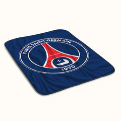 Paris Saint Germain Fleece Blanket