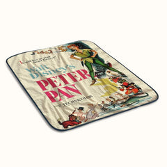 Peter Pan Walt Disney Classic Fleece Blanket