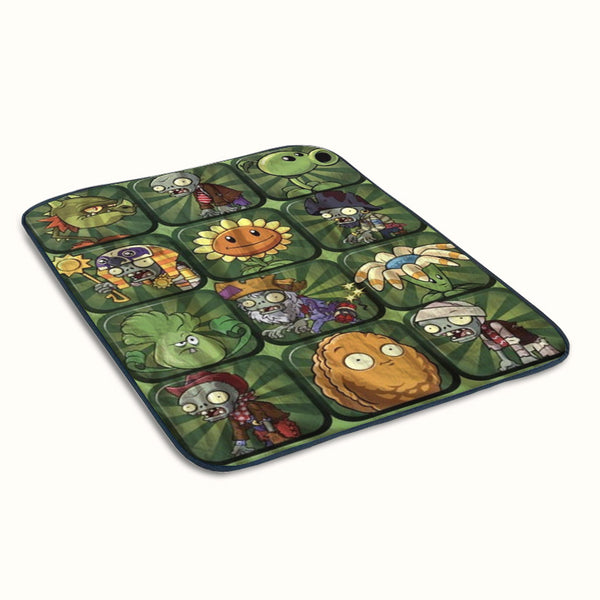Plants vs Zombies 2 Poster Fleece Blanket