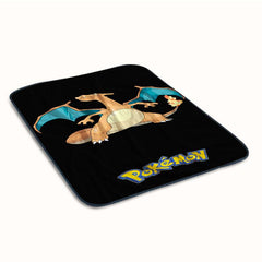 Pokemon Charizard Lizardon Flame Fleece Blanket