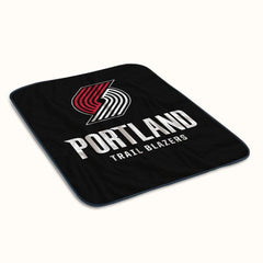 Portland Trail Blazers Fleece Blanket