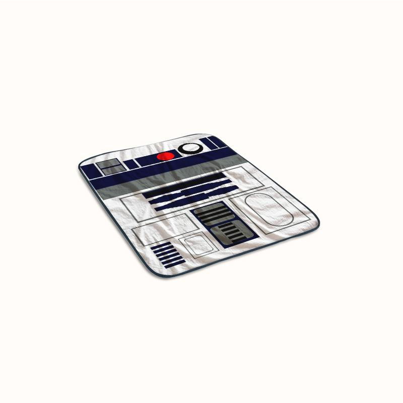 R2D2 Star Wars Fleece Blanket