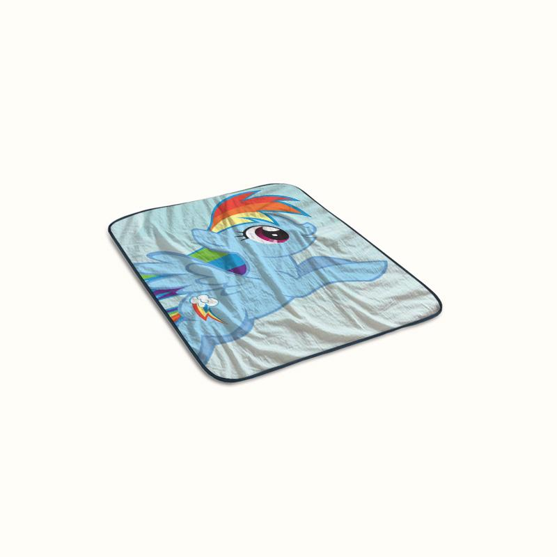 Rainbow Dash My Little Pony Fleece Blanket