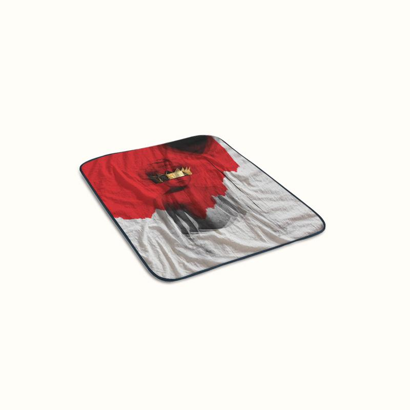 Rihanna Anti Fleece Blanket
