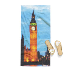 Scenery London Big Ben Tower Bridge Eiffel Towel