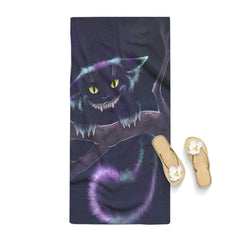 Shadow Of Cheshire Cat Towel