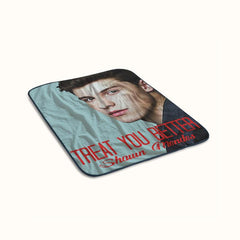 Shawn Mendes Treat You Better Fleece Blanket
