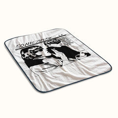 Sonic Youth Band Fleece Blanket