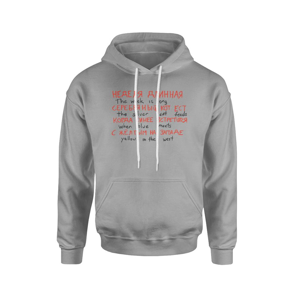 Stranger Things The Silver Cat Feeds Russian Code Hoodie