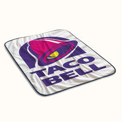 Taco Bell Logo Fleece Blanket
