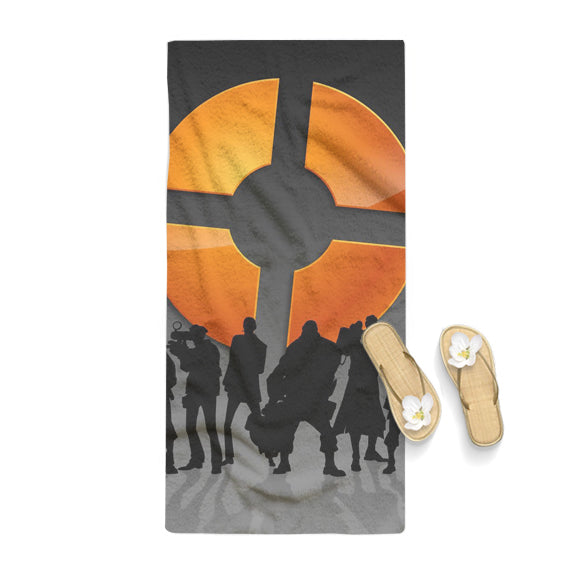 Team Fortress 2 Logo Silhouette Towel