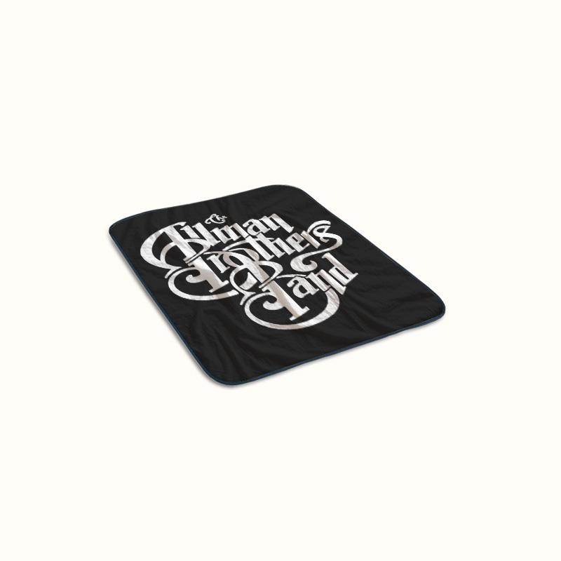 The Allman Brothers Band Logo Fleece Blanket