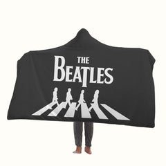 The Beatles The Abbey Road Hooded Blanket