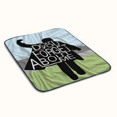 The Breakfast Club Fleece Blanket