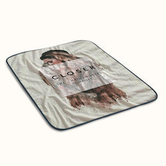 The Chainsmokers ft Halsey Closer Fleece Blanket