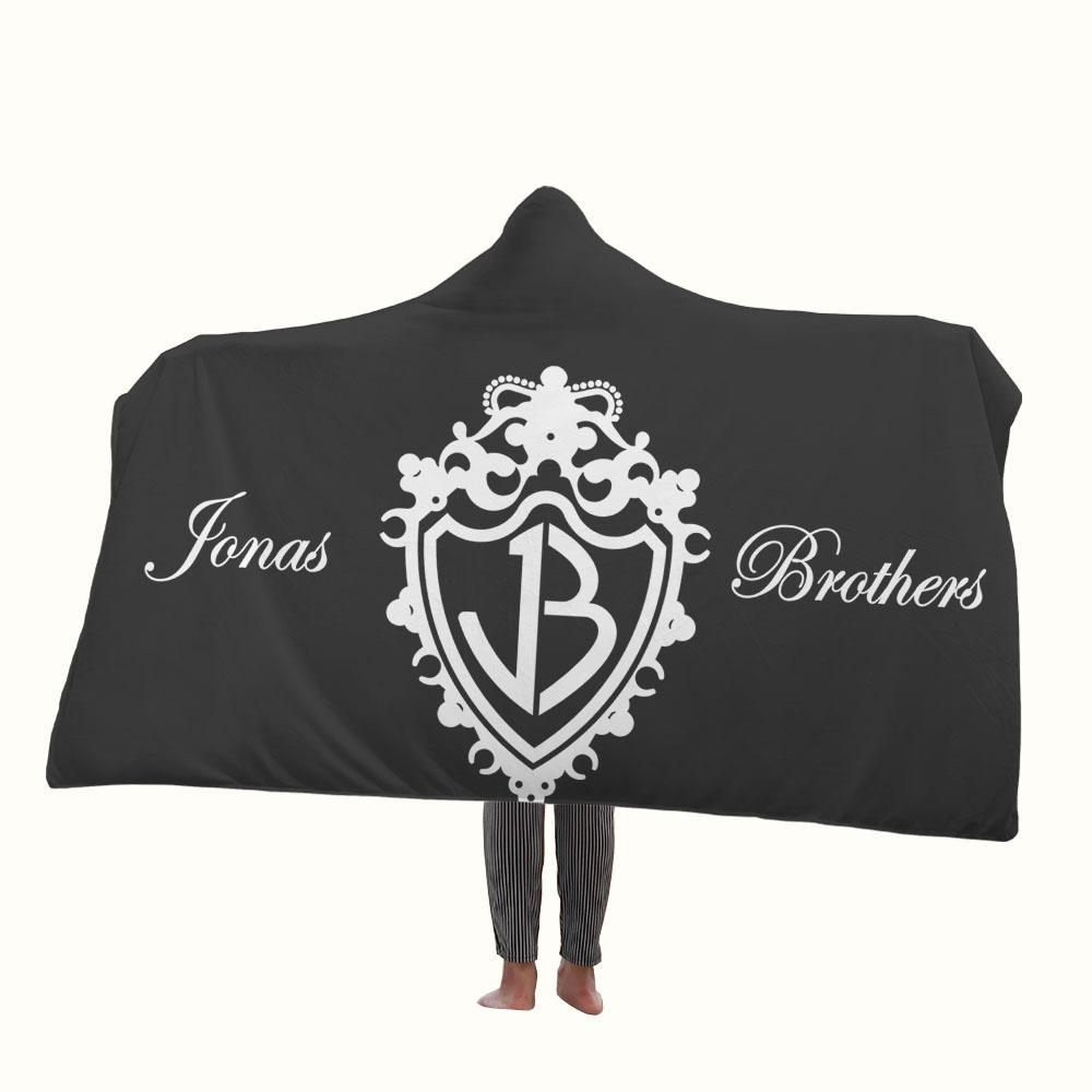 The Jonas Brothers Logo Hooded Blanket