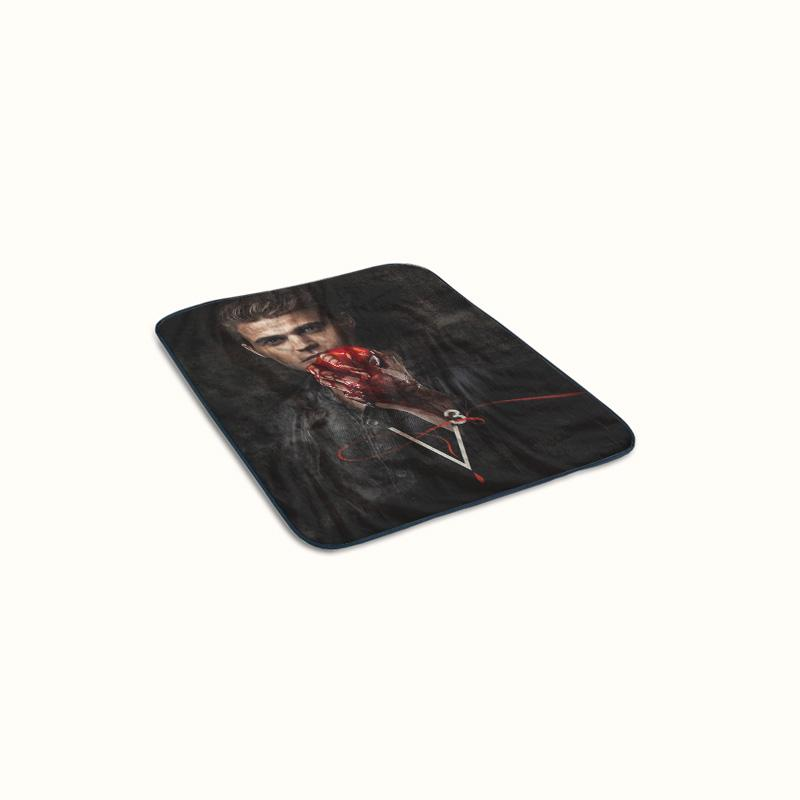 The Vampire Diaries Stefan Salvatore Fleece Blanket