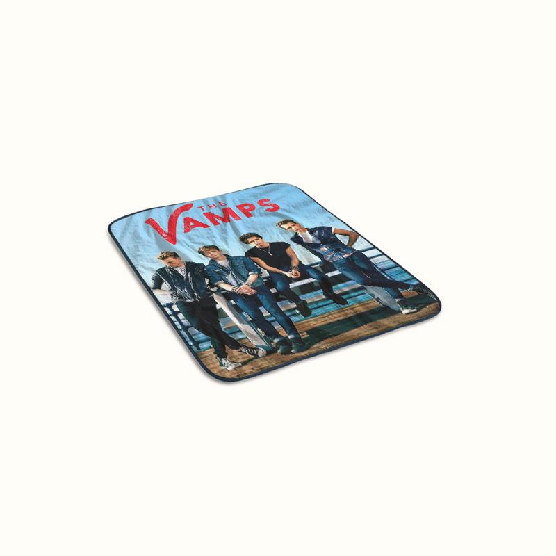 The Vamps Band Fleece Blanket